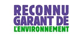 logo reconnu garant environnement
